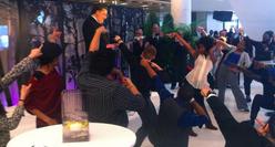 Hyatt Reopening Party Flash Mob